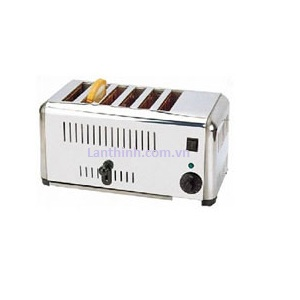 Electric toaster, 6-slot, ETS-6