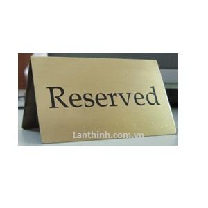 Reserved sign 6-10cm, LT51