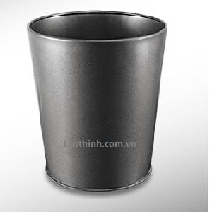 Room dustbin, Black panited steel body 3240444