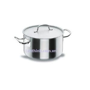Sauce pot with lid, SS, 8 sizes: 14 - 113 lt