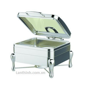Square Chafing dish (Single)- Item code: GB-5682-A, stand: GB-5682-B