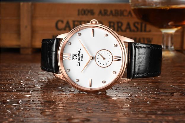 Đồng hồ nam Carnival 8708G - Size 38 mm - Quartz - 2