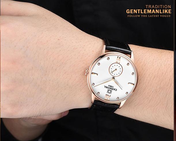 Đồng hồ nam Carnival 8708G - Size 38 mm - Quartz - 4