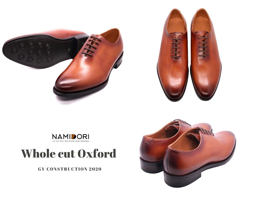 Wholecut Oxford shoes- Giày nam sành điệu