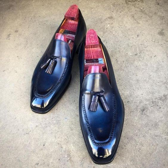Penny Loafer handmade patina, goodyear welted