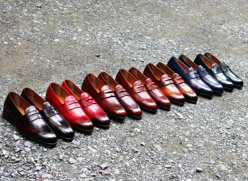 Handmade shoes - Penny Loafer với cấu trúc Goodyear Welted
