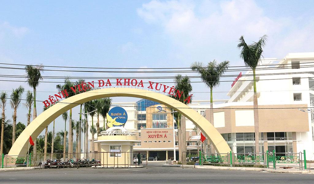 Xây dựng bệnh viện đa khoa Xuyên Á, củ chi