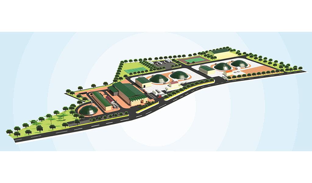 Xây dựng nhà máy phân loại xử lý rác thải, sản xuất biosga và phân bón khoáng hữu cơ tại Quảng Bình