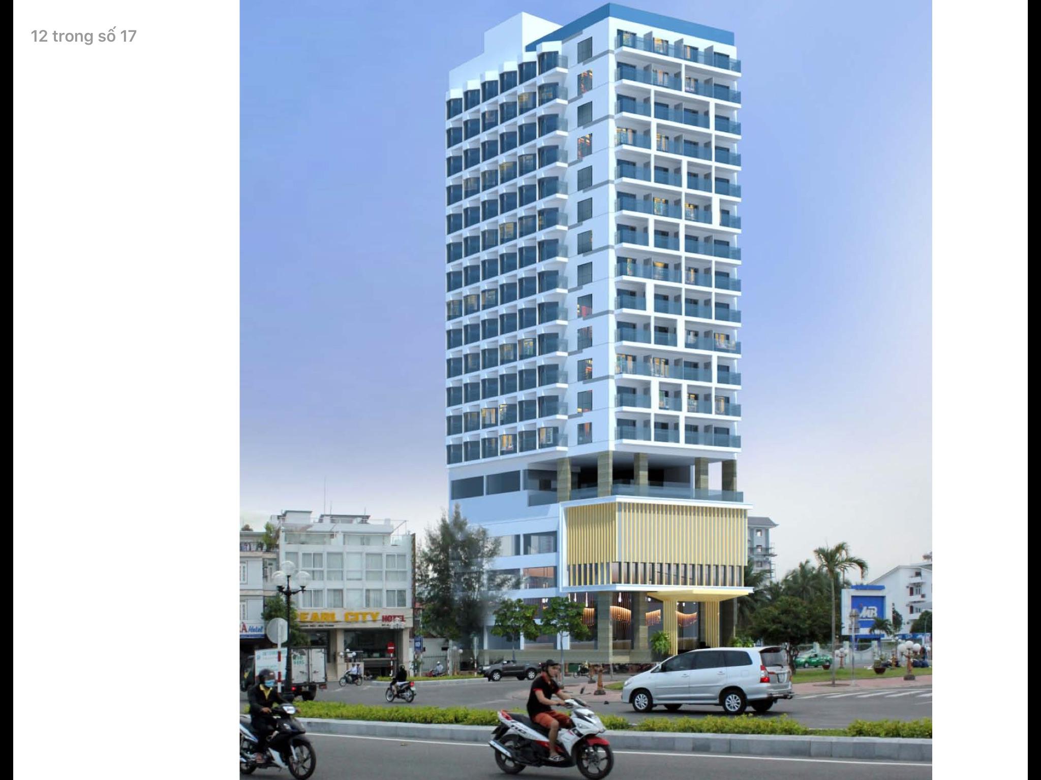 Xây dựng khách sạn Sea Flower Nha Trang