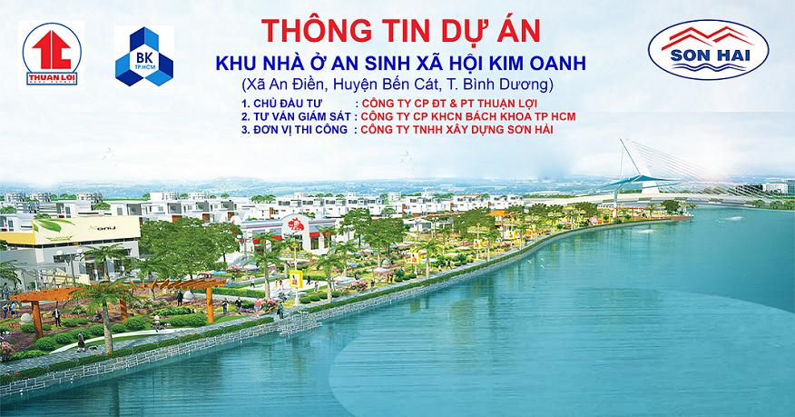 Dự án Nhà ở xã hội Kim Oanh - Bến Cát 1