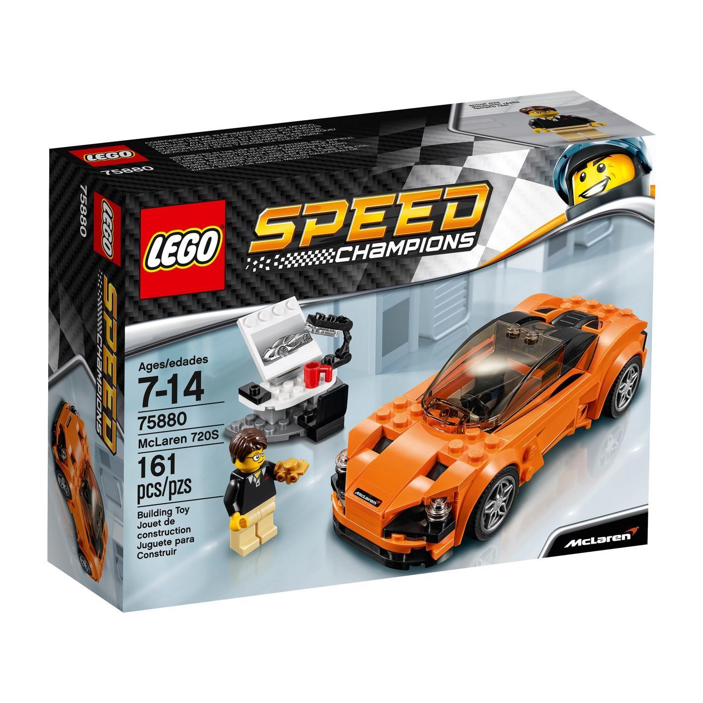 Lego Speed Champions 75880 - Xe Đua McLaren 720S