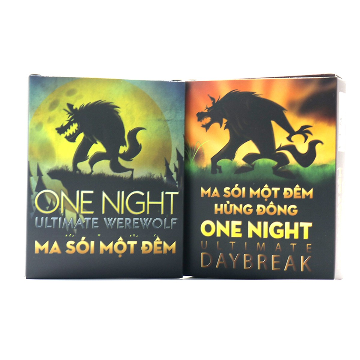Combo ma sói một đêm One Night + DayBreak Việt Hóa