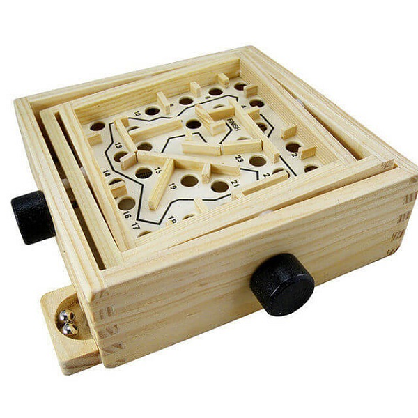 Trò chơi Board Game BG64 Giải đố mê cung (Wooden Labyrinth)