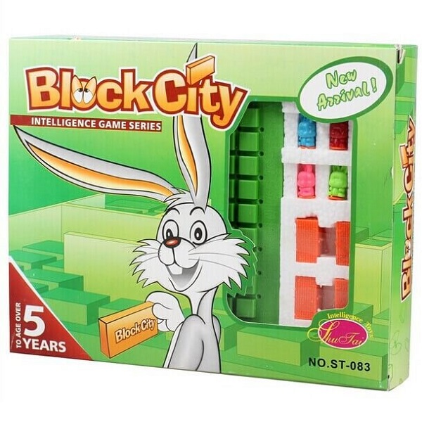 Trò chơi Board Game BG74 Block City - Chặn Thỏ