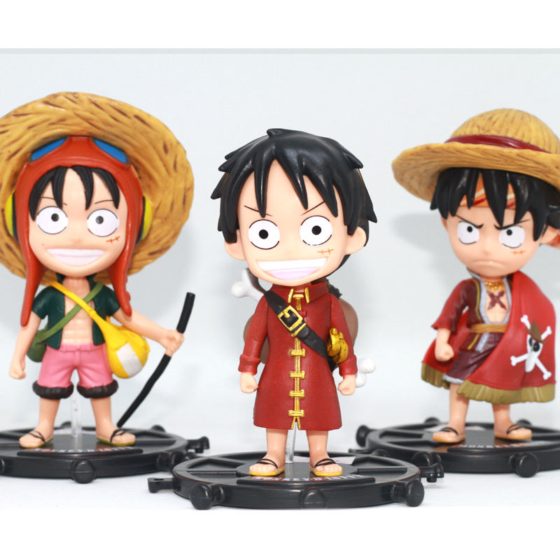 Bộ mô hình 3 Luffy siêu đẹp - One Piece - No.604