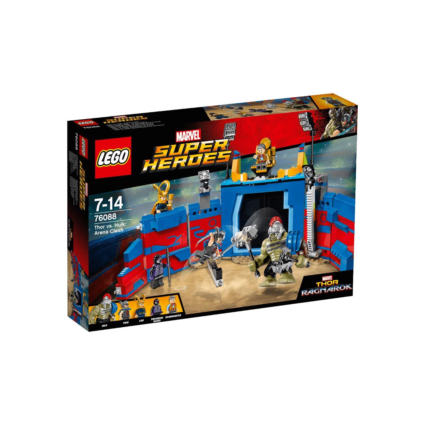 Lego Supper Heroes 76088 - Thor Đối Đấu Hulk: Đấu Trường Quyết Định