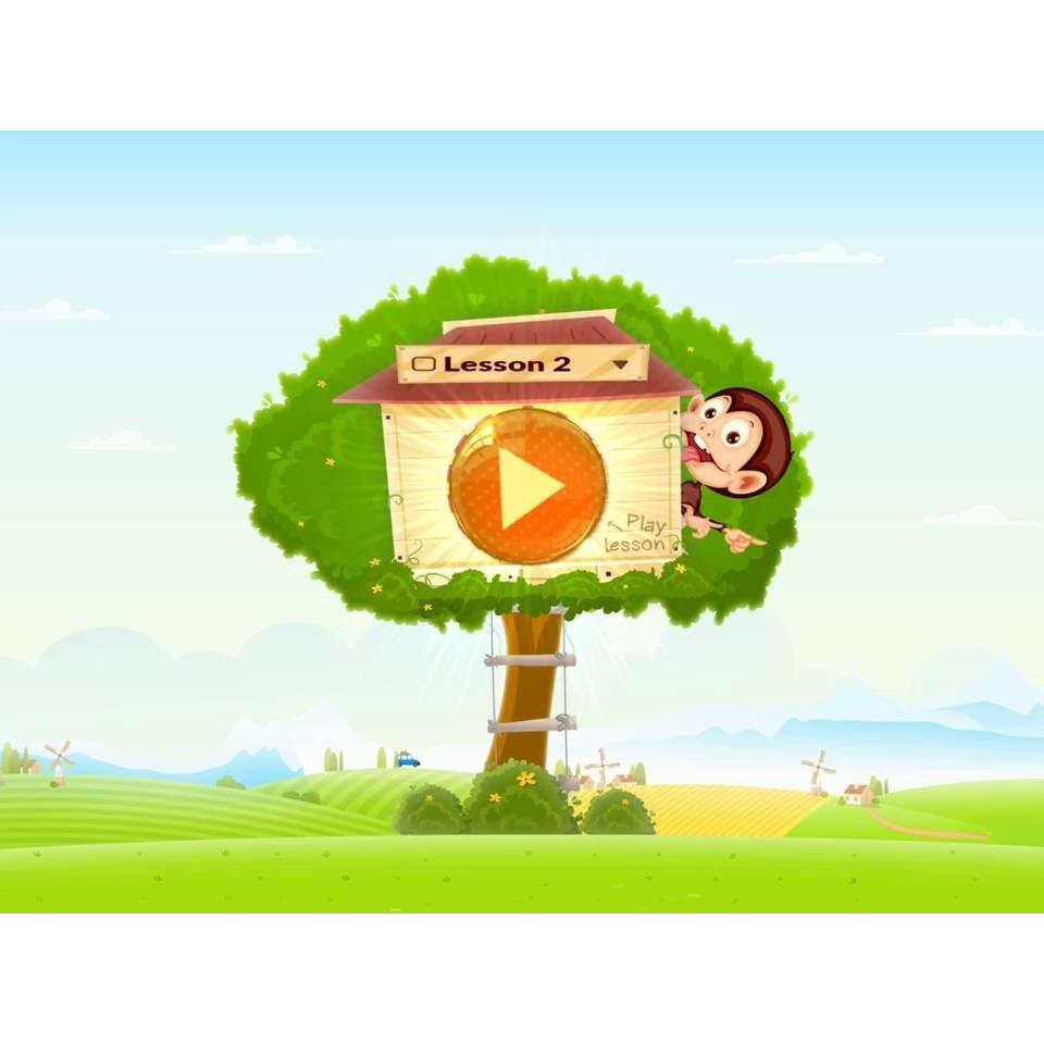 Phát triển ngoại ngữ cho con với Monkey Junior (bản FULL)