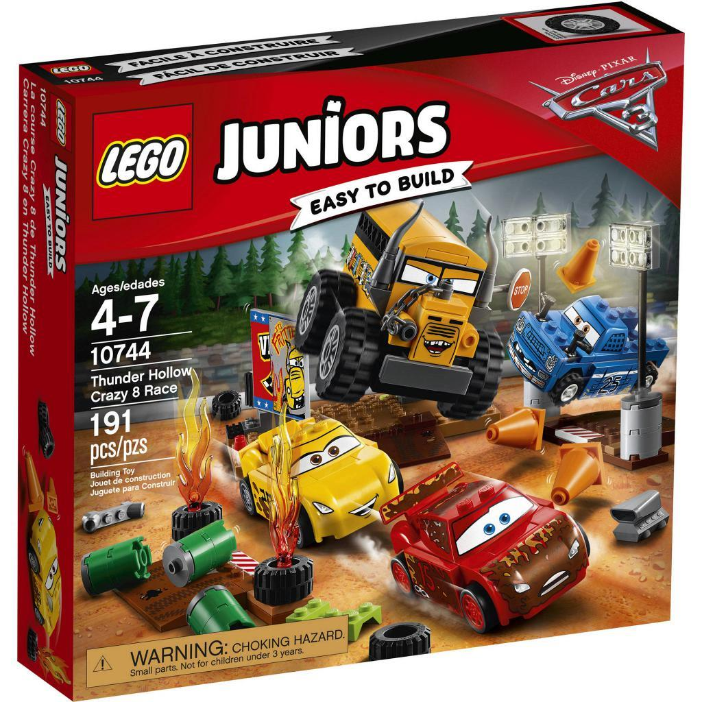 Đồ chơi xếp hình Lego Juniors 10744 - Đường Đua Sấm Sét