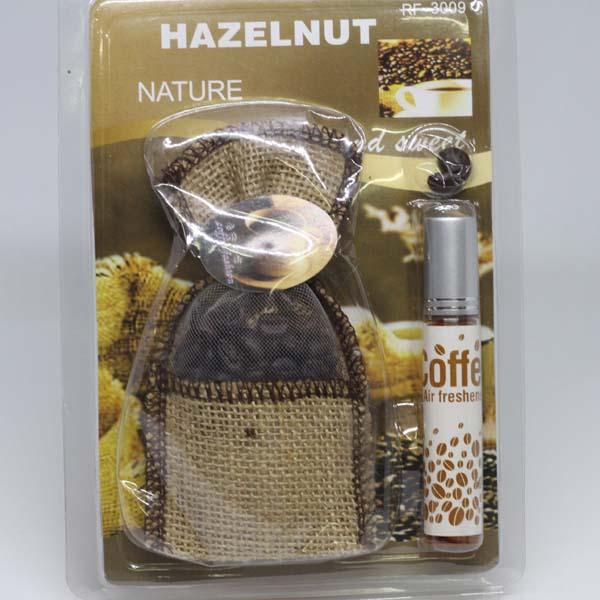 Túi thơm  treo xe hương cà phê Hazelnut NHX02