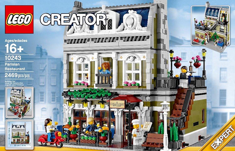 Đồ chơi xếp hình Lego 10243 - Nhà hàng Paris