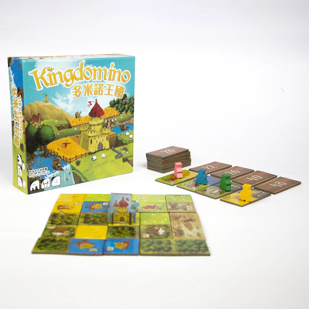 Kingdomino - Chúa tể Domino
