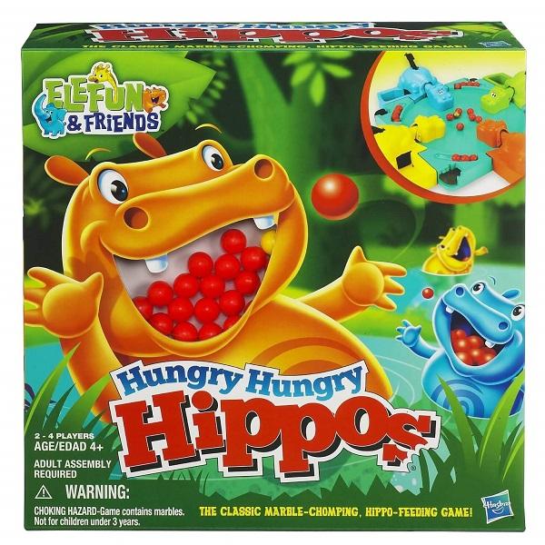 Trò chơi Board Game BG56 Hungry Hippo - Hà Mã Ham Ăn