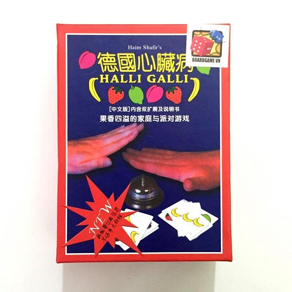 Trò chơi Board Game BG1015 Bài Hoa Quả Halli Galli