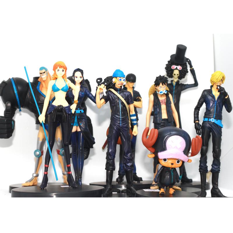 Bộ mô hình One Piece (Combo băng hải tặc mũ rơm) 9 nhân vật