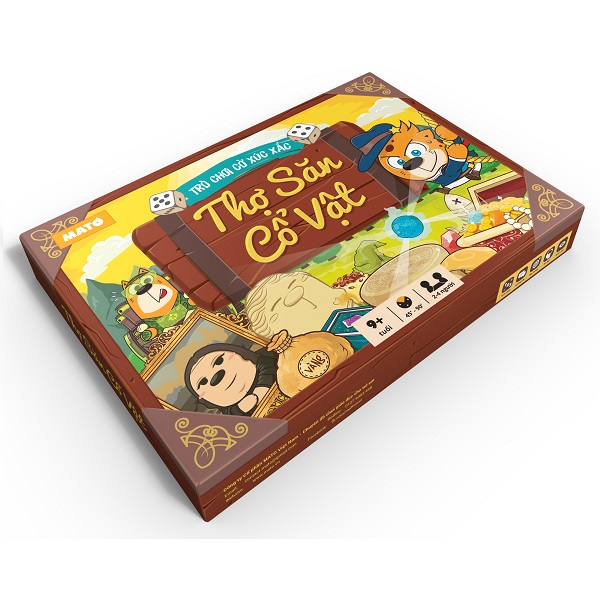 Trò chơi Board Game TSCV Thợ săn cổ vật