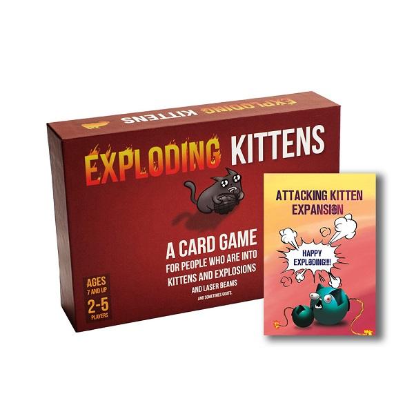 Board Game CBBG06 Combo Mèo Nổ Tấn Công