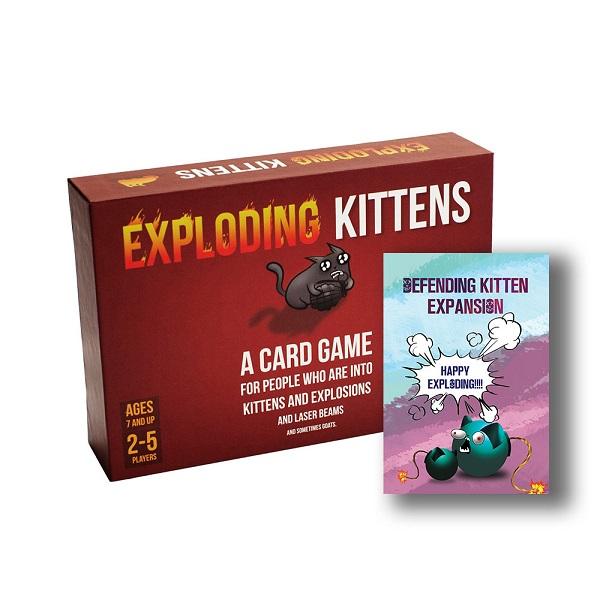Board Game CBBG07 Combo Mèo Nổ Phòng Thủ