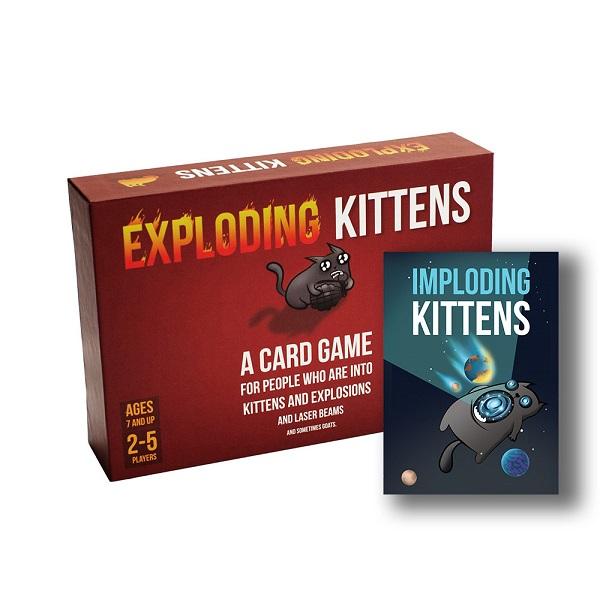 Board Game CBBG05 Combo Mèo Nổ Chậm