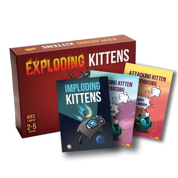 Combo Board Game CBBG04 Combo Mèo Nổ Tung Thế Giới
