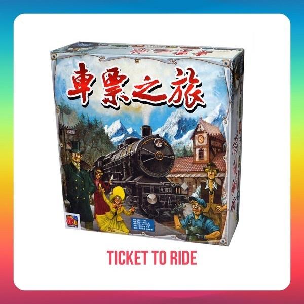 Trò chơi Board Game BG21 Ticket To Ride: Europe