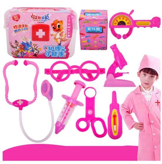 Đồ chơi bác sĩ cho bé màu hồng