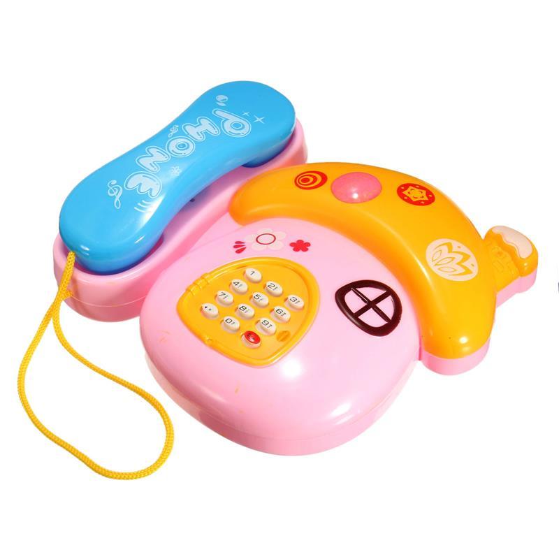 Bộ đồ chơi trẻ em - điện thoại phát nhạc