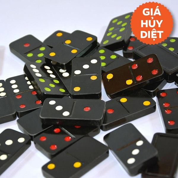 Đồ chơi Board Game BG1008 Cờ Domino đen cao cấp
