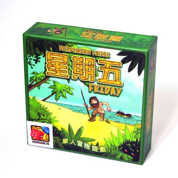 Trò chơi Board Game BG46 Friday - Sống sót trên đảo hoang