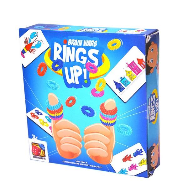 Trò chơi Board Game BG45 Rings Up! - Xếp nhẫn vui nhộ