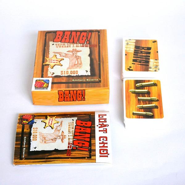 Trò chơi Board Game BG10 Bài Bang! (Việt Hóa)