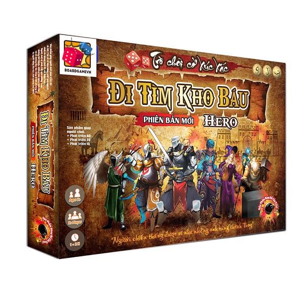 Trò chơi Board Game BG20 Đi tìm kho báu - Phiên bản HERO