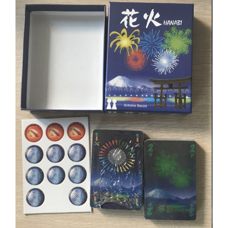 Hanabi - Pháo Hoa Rực Rỡ Boardgame
