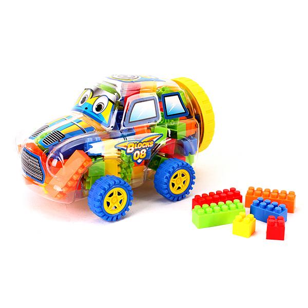 Hộp đồ chơi ghép hình hình ô tô