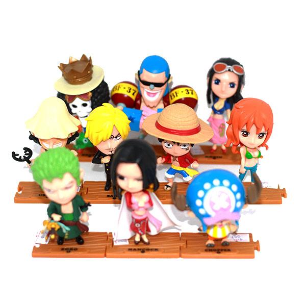 Mô hình One Piece CBMG02 Combo băng hải tặc mũ rơm & Boa  Hancock