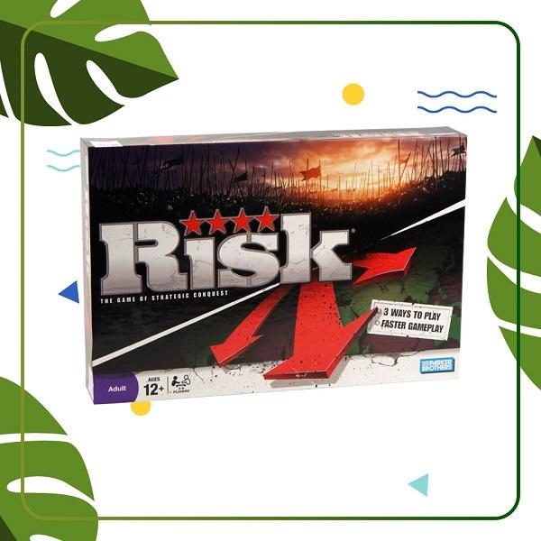 Trò chơi Board Game BG57 Risk Đen - Chiến Tranh Thế Giới