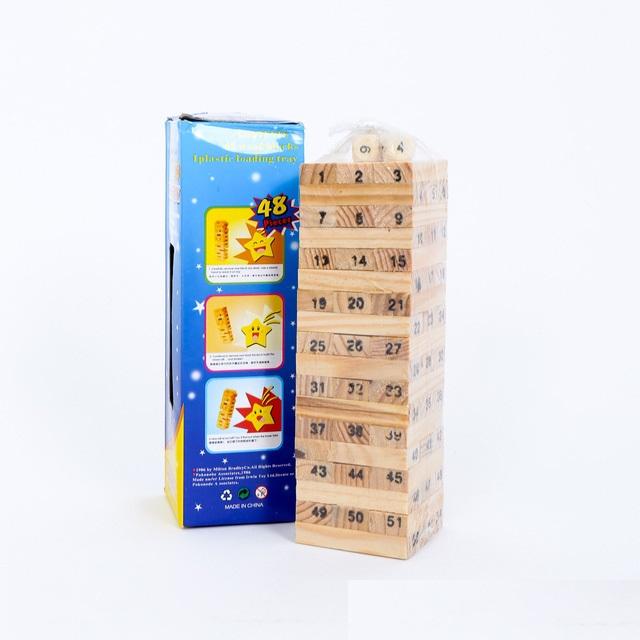 Đồ chơi gỗ rút gỗ cỡ lớn 18 cm