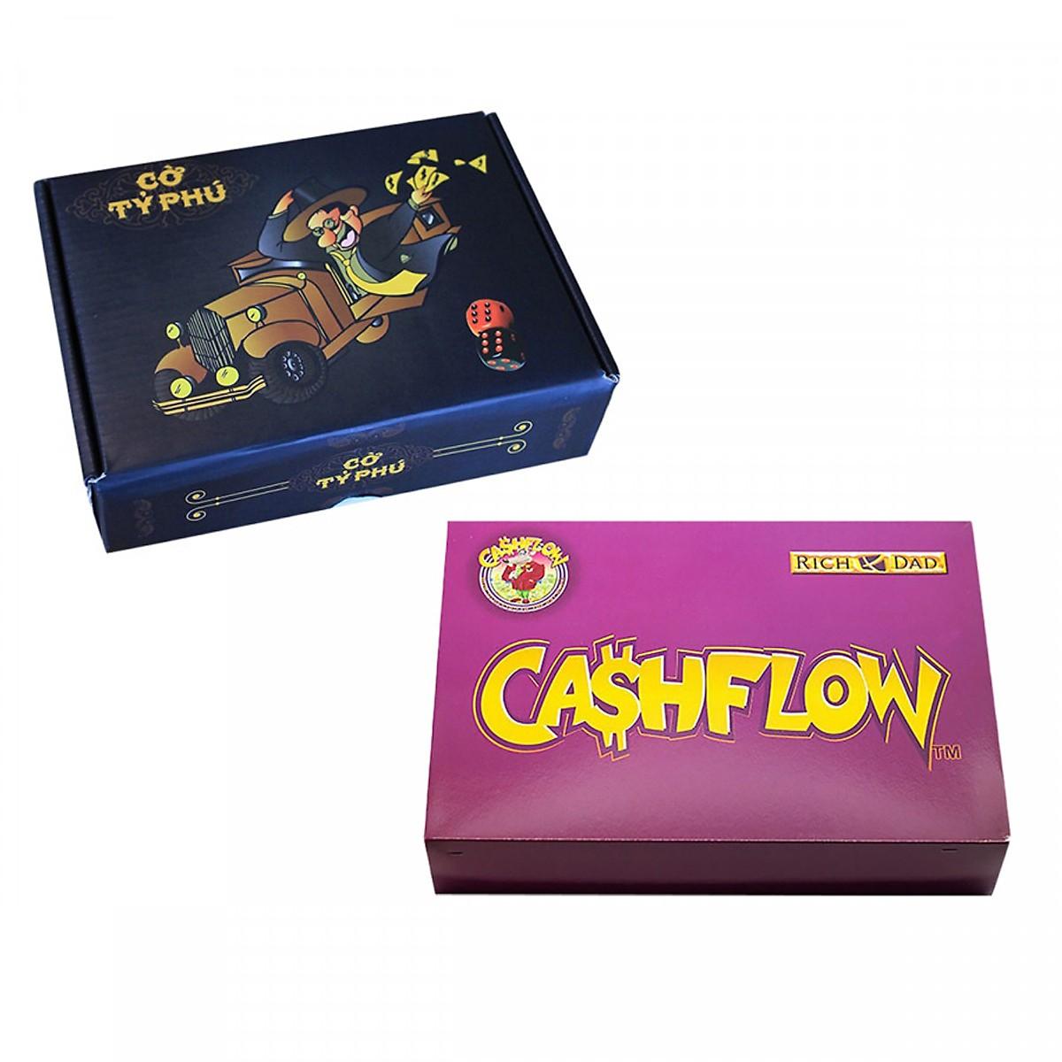 SET Học Làm Giàu: Combo CashFlow + Cờ Tỷ Phú Việt Nam