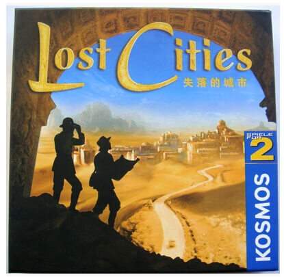 Boardgame Lost Cities - Đi Tìm Thành Phố Mất Tích