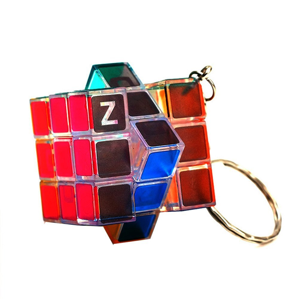 Móc khóa Rubik ZCUBE 3x3x3 Mini Magic Cube
