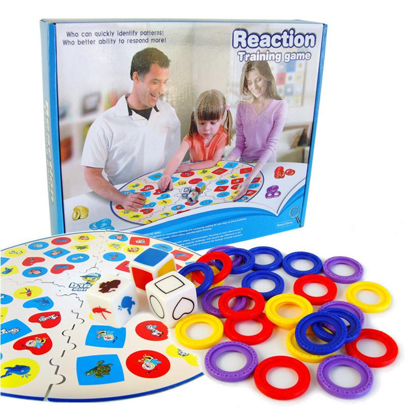 Board Game gia đình Reaction Training Game đồ chơi giáo dục